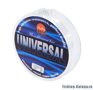 Леска Universal   (прозрачная)     0.25mm     13lb     5.4kg     100m