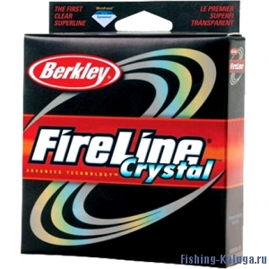 "Леска плетеная BERKLEY ""FireLine Crystal"" 0.10mm (110m)(5.9kg)(прозрачная)"