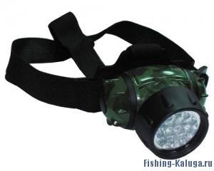 Фонарь налобный  LED (14 светодиодов).
