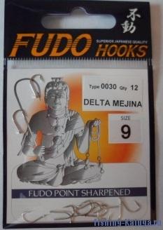 "Крючок ""FUDO"" DELTA MEJINA №9 NK (0030) (12шт)"