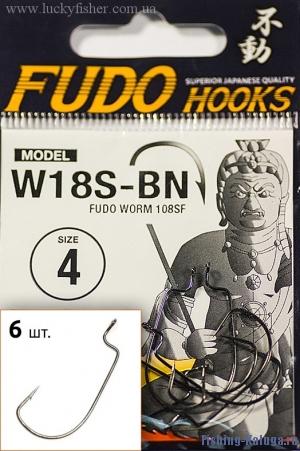 "Крючок ""FUDO"" WORM №2 BN (108) (5шт)"