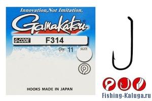 Крючок GAMAKATSU F314  N/L №8 (11шт.)