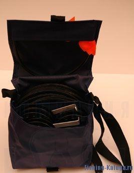 Комплект жерлиц в сумке d=200мм., бол. катуш.d=90мм. (10шт.) (Рост)
