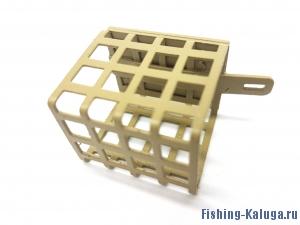 Кормушка пикерная металлическая прямоугольная без дна 10 гр