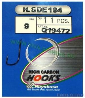"""Крючки """"HAYABUSA"""" H.SDE 194 (черный никель) №14"""