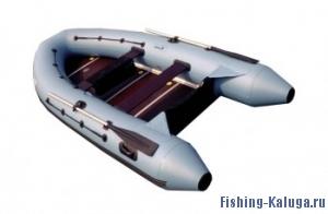 """Лодка ПВХ """"Лидер-360"""" (под мотор 25л.с)(3 части) (С-Пб)"""