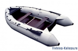 """Лодка ПВХ """"Лидер-380"""" (под мотор 25л.с.)(3части)(С-Пб)"""