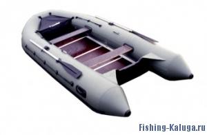 """Лодка ПВХ """"Лидер-400"""" (под мотор 30л.с)(3 части) (С-Пб)"""