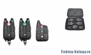 Набор электронных сигнализаторов поклевки с пейджером Hoxwell HL 112 (2+1)