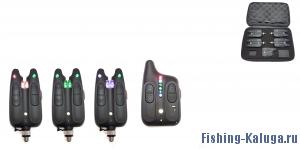 Набор электронных сигнализаторов поклевки с пейджером Hoxwell HL 113 (3+1)