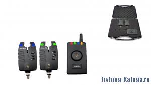 Набор электронных сигнализаторов поклевки с пейджером Hoxwell HL 53 (2+1)