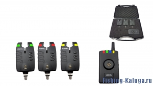 Набор электронных сигнализаторов поклевки с пейджером Hoxwell HL 54 (3+1)