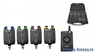 Набор электронных сигнализаторов поклевки с пейджером Hoxwell HL 55 (4+1)