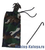 Набор колышков для палатки 15см  (комплект 15 шт) d-0.3мм (Вива Металл Пром)