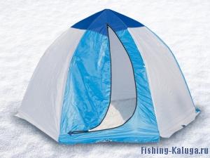 Палатка рыбака 2-м п/автомат брезент (Стэк)
