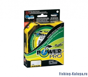 ЛЕСКА ПЛЕТЁНАЯ POWER PRO 135м Hi-Vis Yellow 0,36