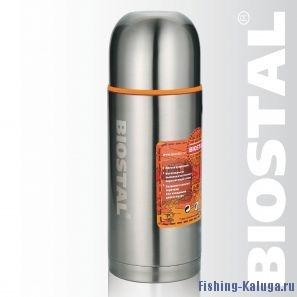 """Термос Biostal """"Спорт"""" NBP-750 0,75л (узкое горло, 2 пробки)"""