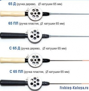 """Удочка зимняя """"Пирс"""" КМ-65 (пласт.ручка)"""