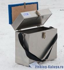 Ящик алюминиевый 2-х секционный (28 л) (Стэк)