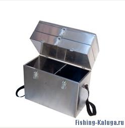 Ящик рыболова №5 300х190х430 трехъярусный, нержавейка (Рост)